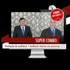 COMBO - Formação de Auditores Internos + Auditoria Interna em Processos Completo